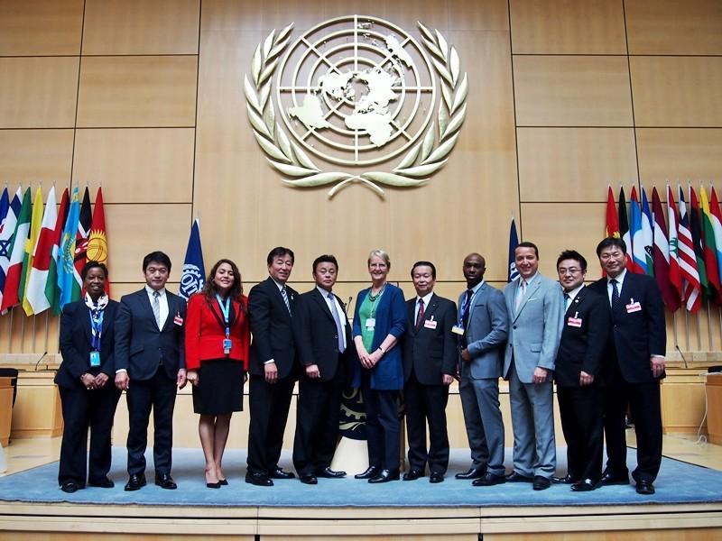 国連訓練調査研究所-unitar-視察