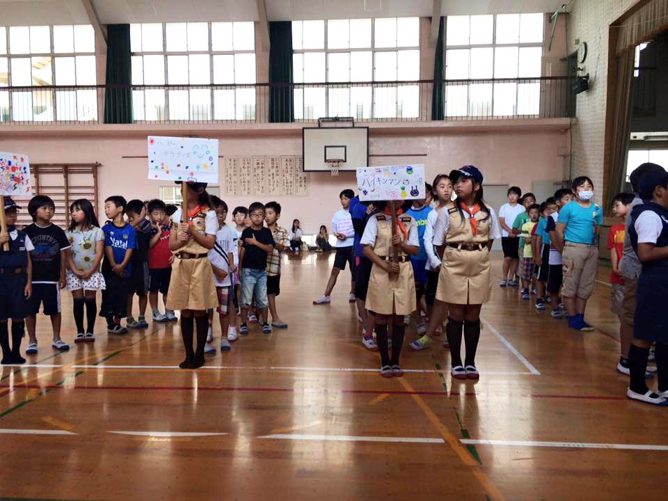 第40回福木学区子ども会「夏季球技大会」