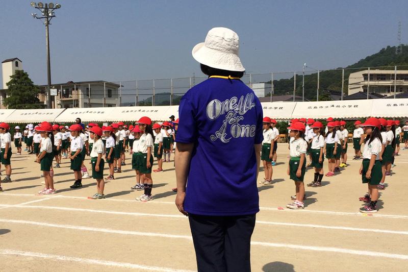 温品小学校運動会
