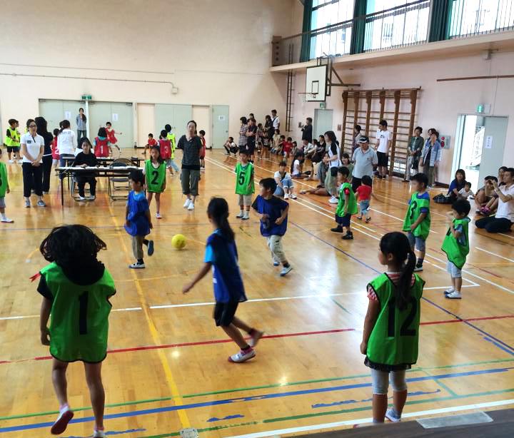 福木学区子ども会 夏季球技大会